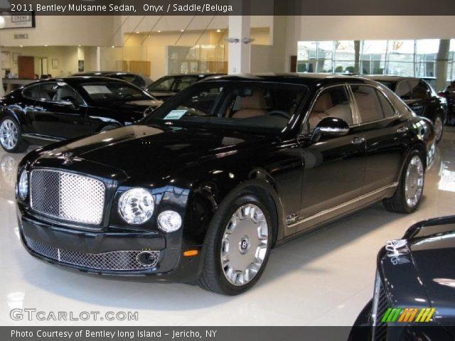 2011 Bentley Mulsanne Sedan in Onyx