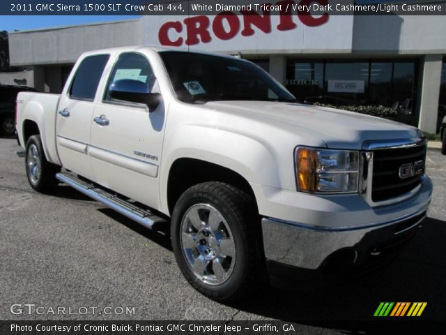 2011 GMC Sierra 1500 SLT Crew Cab 4x4 in White Diamond Tricoat