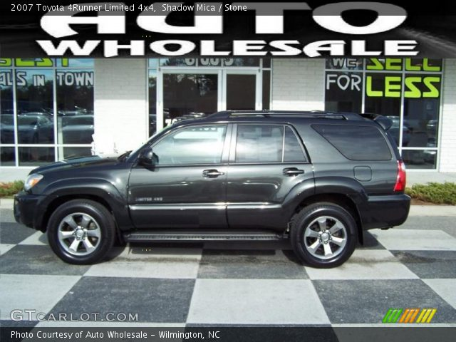 shadow mica 2007 toyota 4runner limited 4x4 stone interior vehicle archive. Black Bedroom Furniture Sets. Home Design Ideas