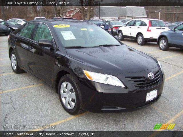 black 2008 toyota camry ce bisque interior vehicle archive 40962186. Black Bedroom Furniture Sets. Home Design Ideas