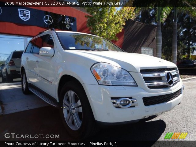 2008 Mercedes-Benz GL 320 CDI 4Matic in Arctic White