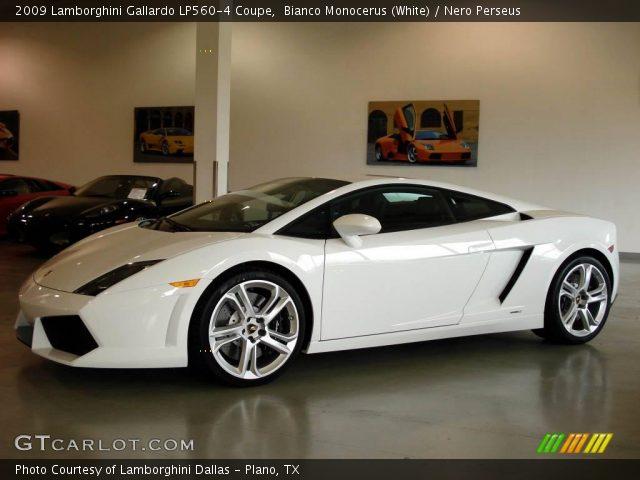 2009 Lamborghini Gallardo LP560-4 Coupe in Bianco Monocerus (White)