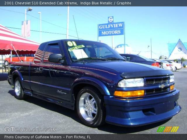 indigo blue metallic 2001 chevrolet s10 extended cab xtreme graphite interior. Black Bedroom Furniture Sets. Home Design Ideas