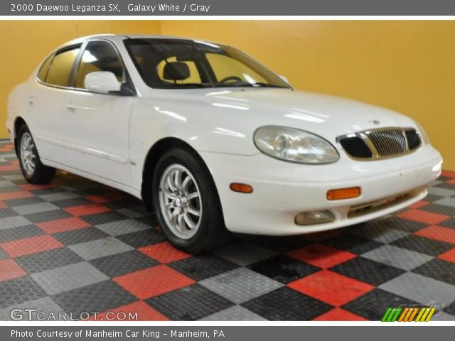 2000 Daewoo Leganza SX in Galaxy White