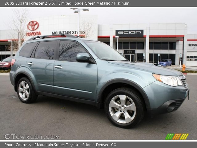 sage green metallic 2009 subaru forester 2 5 xt limited. Black Bedroom Furniture Sets. Home Design Ideas