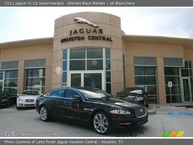 2011 Jaguar XJ XJL Supercharged in Ultimate Black Metallic