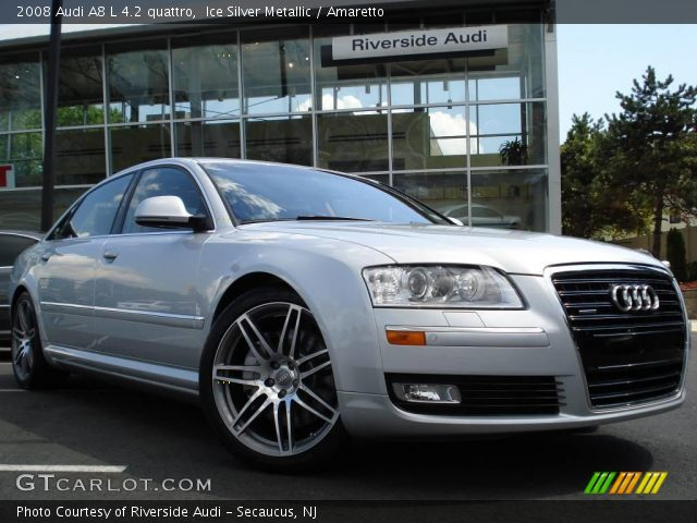 2008 Audi A8 L 4.2 quattro in Ice Silver Metallic