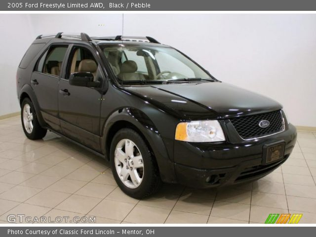 black 2005 ford freestyle limited awd pebble interior. Black Bedroom Furniture Sets. Home Design Ideas