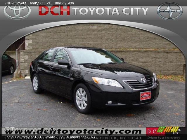 black 2009 toyota camry xle v6 ash interior vehicle archive 41423863. Black Bedroom Furniture Sets. Home Design Ideas