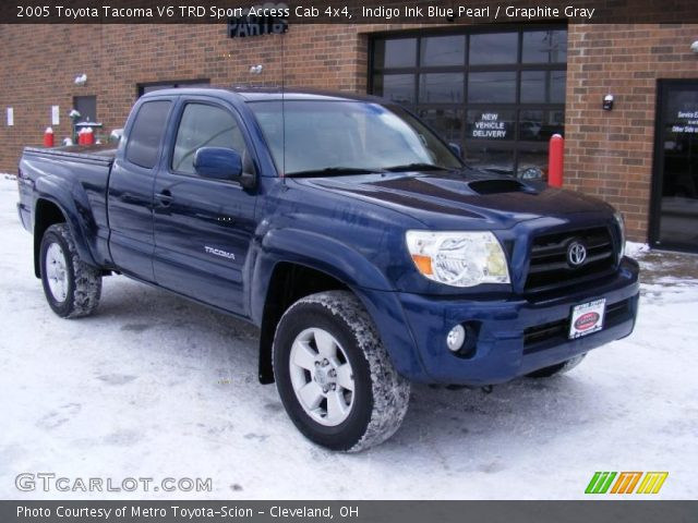 indigo ink blue pearl 2005 toyota tacoma v6 trd sport. Black Bedroom Furniture Sets. Home Design Ideas