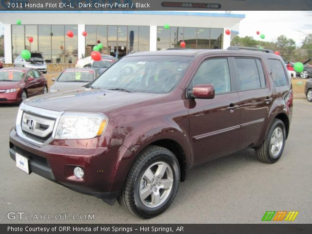 2011 Honda Pilot EX-L in Dark Cherry Pearl
