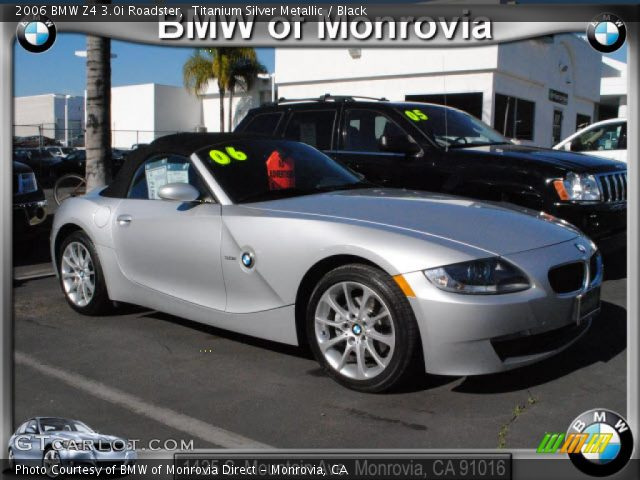 titanium silver metallic 2006 bmw z4 roadster. Black Bedroom Furniture Sets. Home Design Ideas