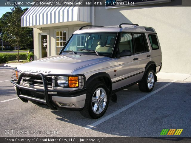 White Gold Pearl Metallic 2001 Land Rover Discovery Ii Se Bahama Beige Interior Gtcarlot