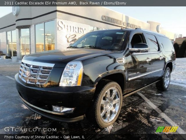 black raven 2011 cadillac escalade esv premium awd. Black Bedroom Furniture Sets. Home Design Ideas
