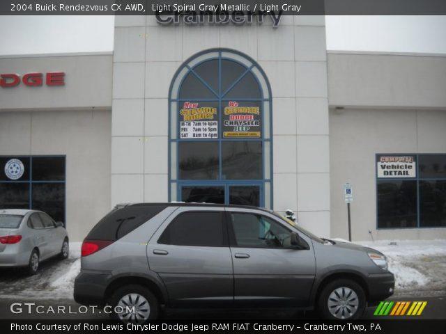 2004 Buick Rendezvous CX AWD in Light Spiral Gray Metallic