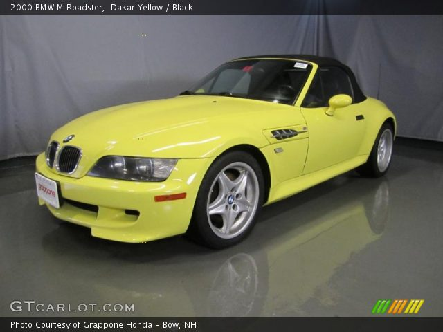 dakar yellow 2000 bmw m roadster black interior. Black Bedroom Furniture Sets. Home Design Ideas