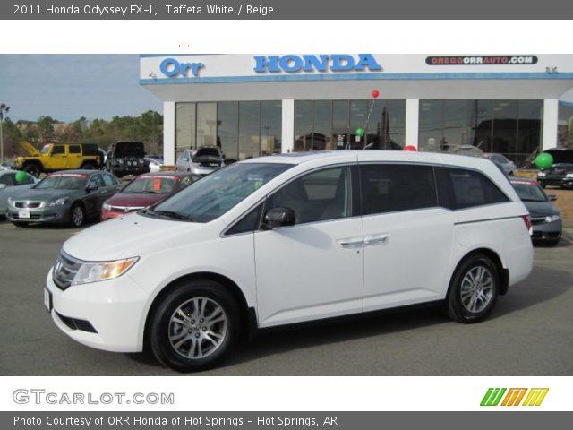 2011 Honda Odyssey EX-L in Taffeta White