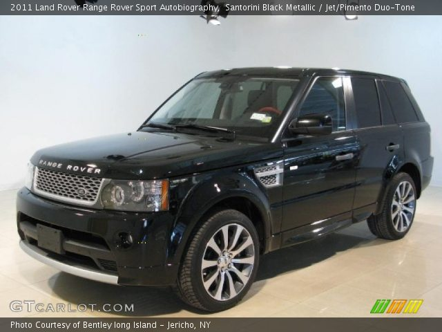 santorini black metallic 2011 land rover range rover. Black Bedroom Furniture Sets. Home Design Ideas