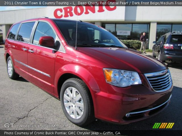2011 Chrysler Town & Country Touring - L in Deep Cherry Red Crystal Pearl