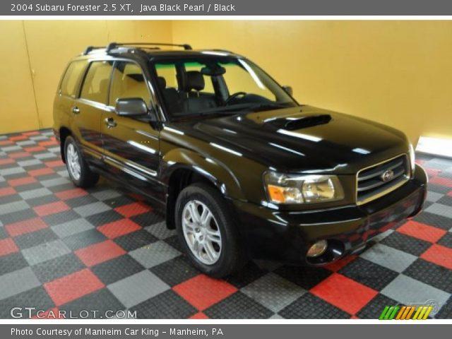 Java Black Pearl 2004 Subaru Forester 25 Xt Black Interior