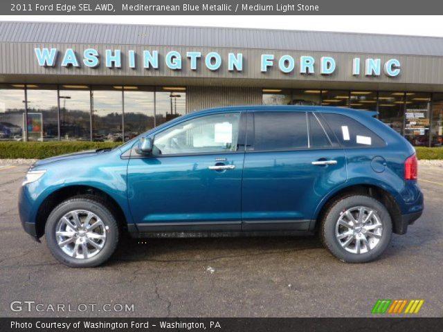 2011 Ford Edge SEL AWD in Mediterranean Blue Metallic