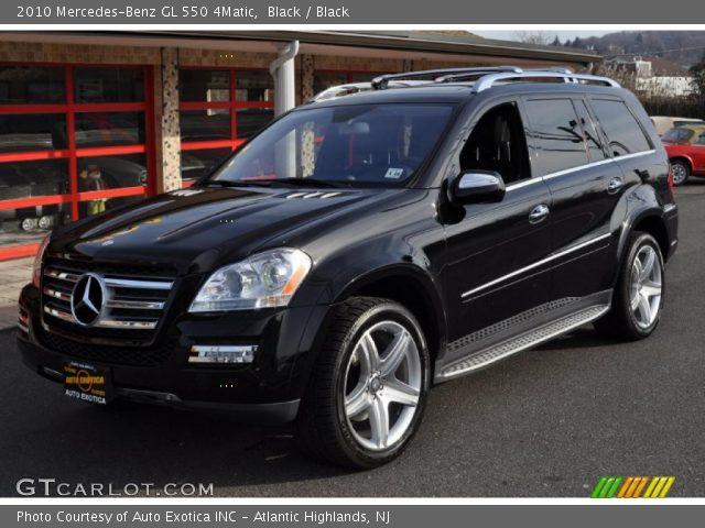 Black 2010 mercedes benz gl 550 4matic black interior for Mercedes benz gl 500 4matic 2010