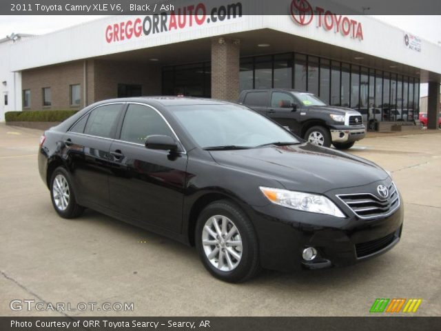 black 2011 toyota camry xle v6 ash interior gtcarlot. Black Bedroom Furniture Sets. Home Design Ideas