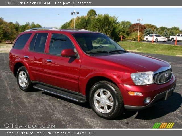 red jewel 2007 buick rainier cxl awd cashmere interior vehicle archive. Black Bedroom Furniture Sets. Home Design Ideas