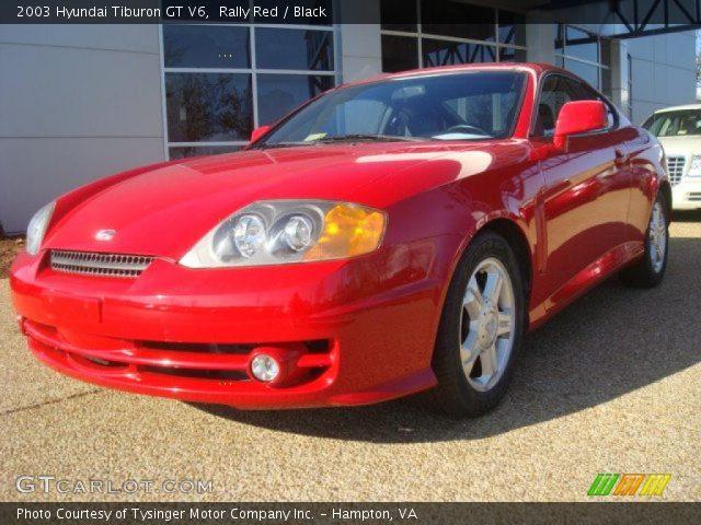 2003 Hyundai Tiburon Gt V6. 2003 Hyundai Tiburon GT V6