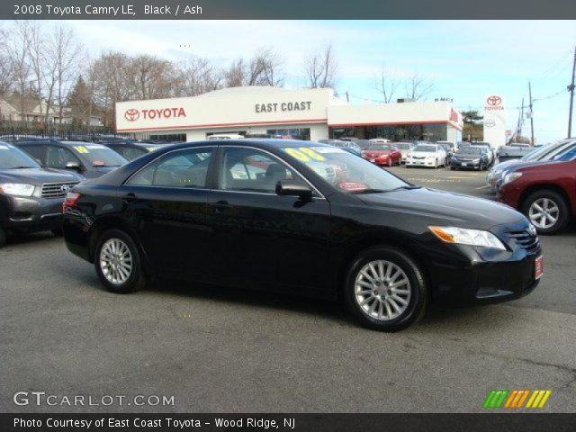 black 2008 toyota camry le ash interior vehicle archive 41865819. Black Bedroom Furniture Sets. Home Design Ideas