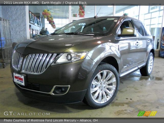 2011 Lincoln MKX AWD in Earth Metallic