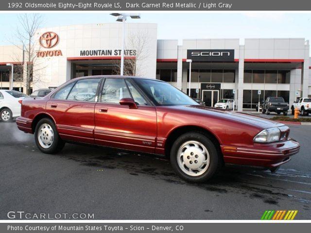 1992 Oldsmobile Eighty-Eight Royale LS in Dark Garnet Red Metallic