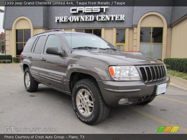 taupe frost metallic 1999 jeep grand cherokee limited 4x4 taupe interior. Black Bedroom Furniture Sets. Home Design Ideas
