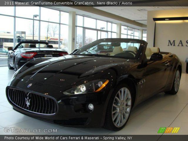 2011 Maserati GranTurismo Convertible GranCabrio in Nero (Black)