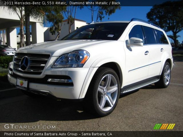2011 Mercedes-Benz GL 550 4Matic in Diamond White Metallic
