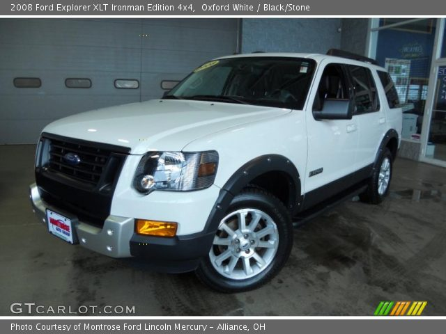 2008 ford explorer xlt ironman edition 4x4 in oxford white - 2008 Ford Explorer Interior