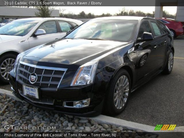 black raven 2010 cadillac cts 3 6 sport wagon ebony. Black Bedroom Furniture Sets. Home Design Ideas