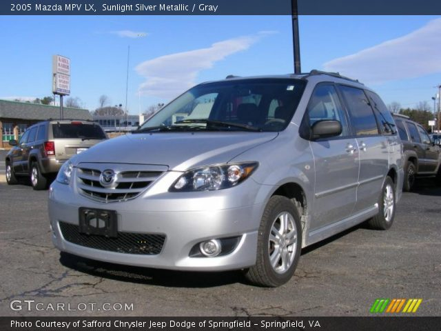 2005 Mazda MPV LX in Sunlight Silver Metallic