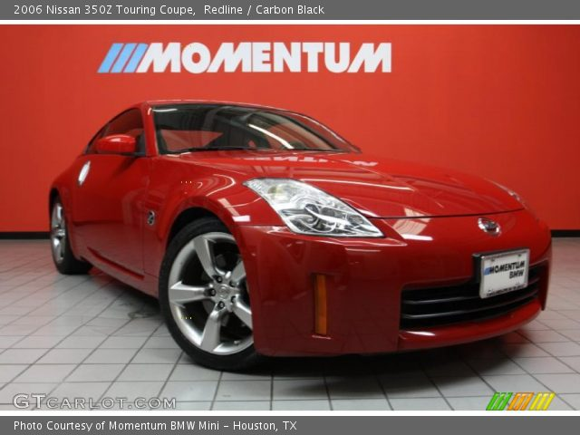 redline 2006 nissan 350z touring coupe carbon black. Black Bedroom Furniture Sets. Home Design Ideas