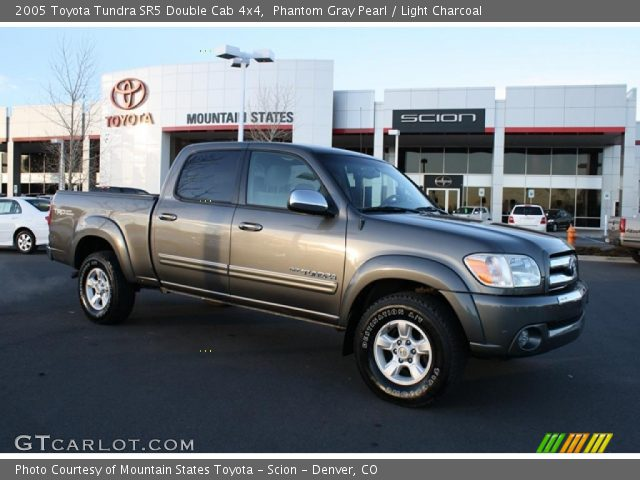 phantom gray pearl 2005 toyota tundra sr5 double cab 4x4 light charcoal interior gtcarlot. Black Bedroom Furniture Sets. Home Design Ideas