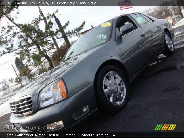 Thunder Gray 2004 Cadillac Deville Dts Dark Gray Interior Vehicle Archive