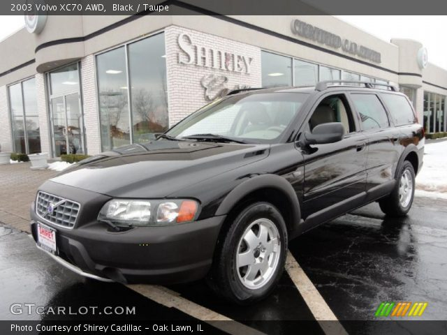 Black - 2003 Volvo XC70 AWD - Taupe Interior | GTCarLot.com - Vehicle ...