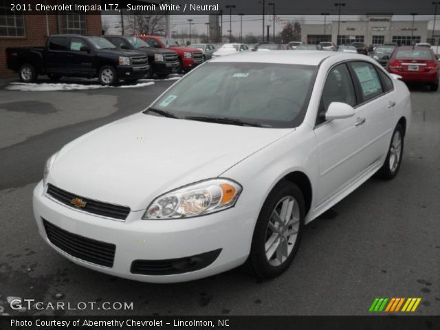 summit white 2011 chevrolet impala ltz neutral interior vehicle archive. Black Bedroom Furniture Sets. Home Design Ideas