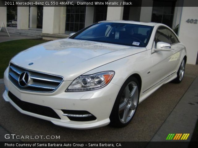 diamond white metallic 2011 mercedes benz cl 550 4matic. Black Bedroom Furniture Sets. Home Design Ideas