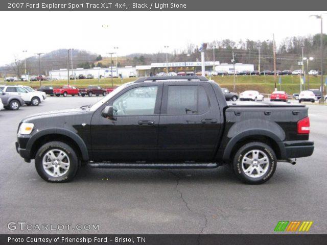 black 2007 ford explorer sport trac xlt 4x4 light stone interior vehicle. Black Bedroom Furniture Sets. Home Design Ideas
