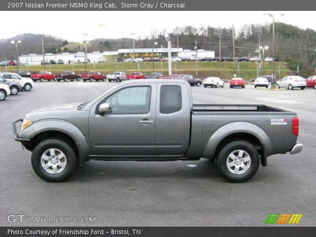storm gray 2007 nissan frontier nismo king cab charcoal interior vehicle. Black Bedroom Furniture Sets. Home Design Ideas