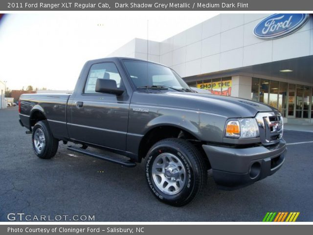 dark shadow grey metallic 2011 ford ranger xlt regular. Black Bedroom Furniture Sets. Home Design Ideas