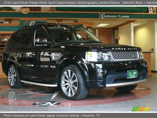 2010 Land Rover Range Rover Sport Supercharged Autobiography Limited Edition in Santorini Black