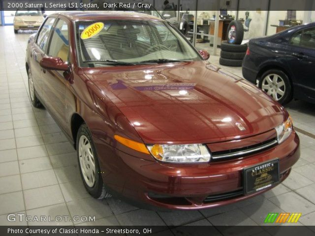 2000 Saturn L Series LS1 Sedan in Dark Red