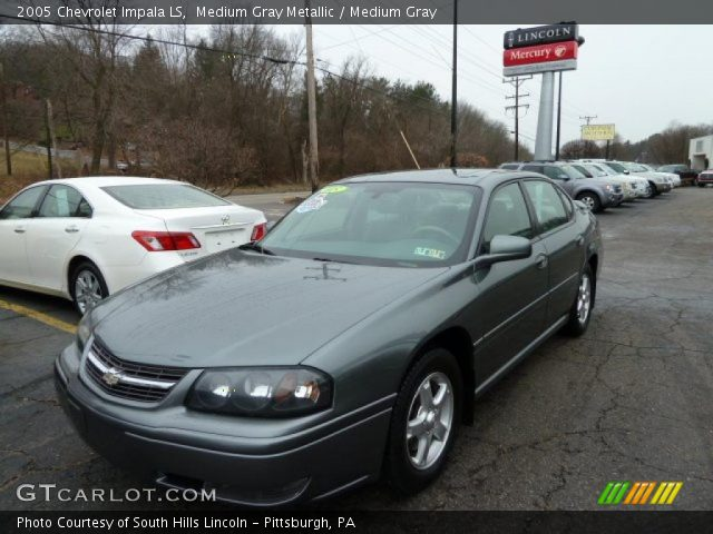 medium gray metallic 2005 chevrolet impala ls medium. Black Bedroom Furniture Sets. Home Design Ideas